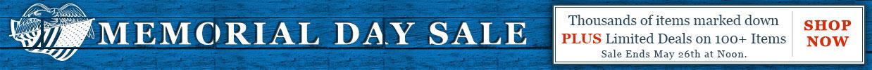 2015 Memorial Day Sale